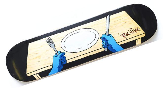 ReVive Dinner Time Skateboard