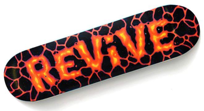 ReVive Lava Skateboard