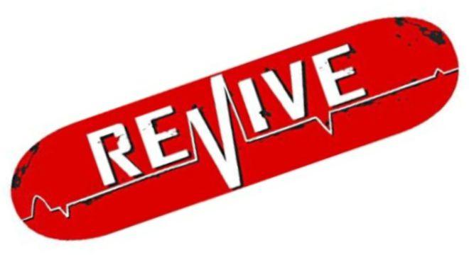 ReVive Red Lifeline Skateboard
