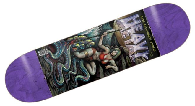Darkstar Bachinsky Heavy Metal II Skateboard