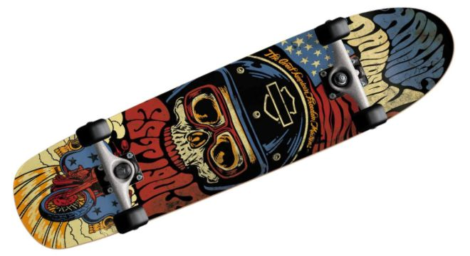 Darkstar Skateboards Harley Davidson Legend