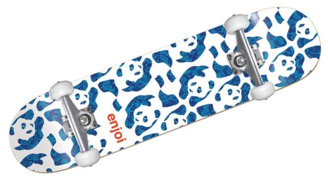 Enjoi Skateboards Repeater White Mid