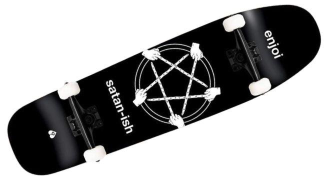 Enjoi Skateboards Satan-ish Black