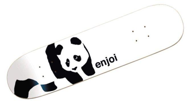 Enjoi Whitey Panda R7 Complete Skateboard