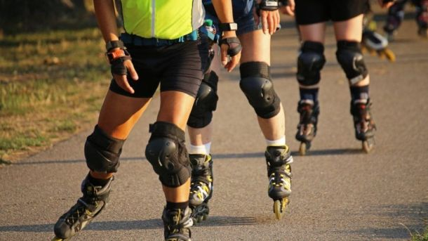 Impact Of Roller Blading On Your Knees