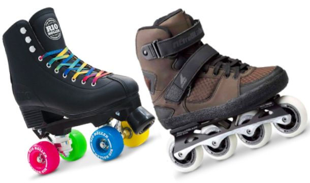 When Were Roller Skate And Rollerblade Invented