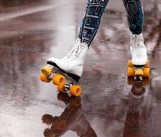 Roller Skate In The Rain