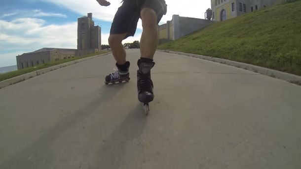 Stop the Rollerblading in a Good Way