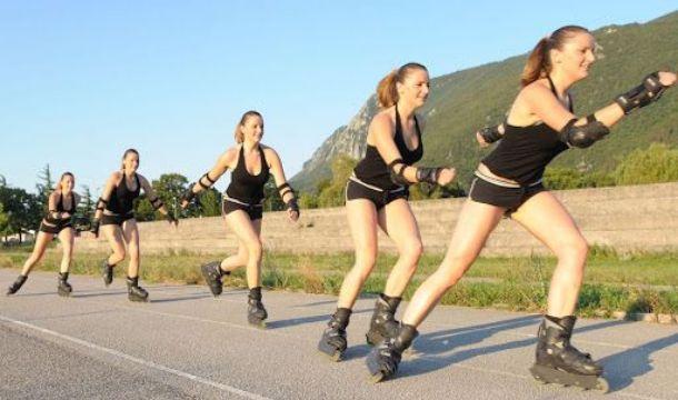 rollerblading vă ajută să pierdeți în greutate)