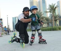 Teach Your Child How To Roller Skate
