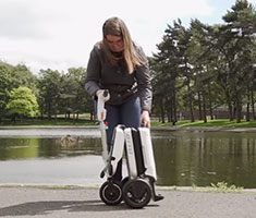 Folding Electric Tricycle Scooter for Adults