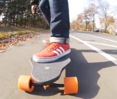 Intelligent Electric Skateboard