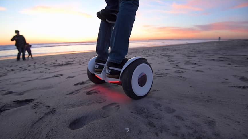how to ride a hoverboard without falling