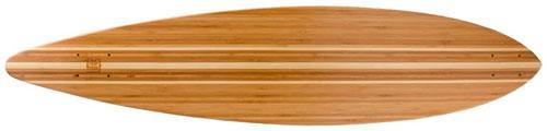 Bamboo Pin Tail Blank Skateboard Deck