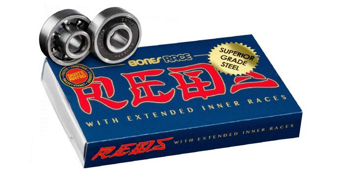 Bones Race Reds Bearings