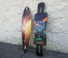PINTAIL LONGBOARD DECKS
