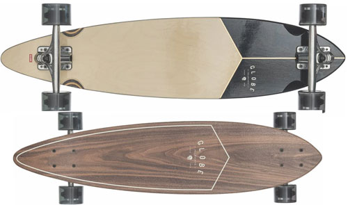 "GLOBE Pintail 34"" Walnut/Black"