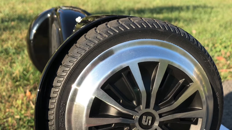T5 Tires and Braking system